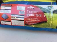 Brand New 2 man dome tent (not popup) for camping, festivals and gardens