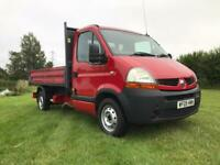 Renault tipper truck drop side