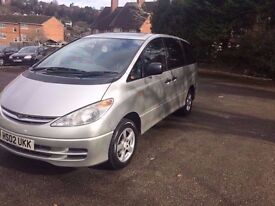 2002 LPG 8 Seats Toyota Estima Automatic LPG fully working leather Seats
