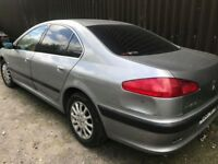PEUGEOT 607 2.2 PETROL 2001 GEARBOX ONLY