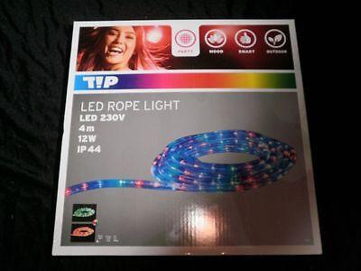 4m LED Lichtschlauch/Lichterkette, multicolor bunt, Party Disco, 12W, rope light