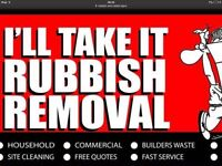MAN AND VAN RUBBISH REMOVAL WE TAKE ANY WASTE CHEAPER THAN A SKIP WE DO ALL THE WORK 07340654470 .