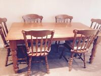 6 chair kitchen table