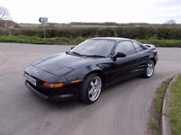 1993 TOYOTA MR2 T BAR G LIMITED ..LONG M.O.T NEW DISKS AND PADS LEATHER,BLACK,ALLOYS