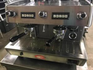 Grimac Double 2 group espresso machine for only $2600! ( like new ! ) shipping with in Canada