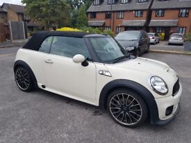 Mini Cooper S 2009 automatic trip tonic convertible sports Cream