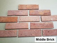 Brick slips, wall tiles, cladding