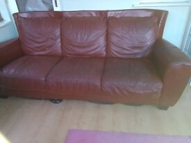 three seater sofa with couch(dfs)