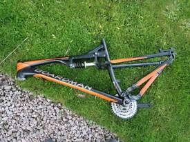 Team Boardman full suspension Mountain bike Frame
