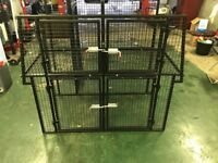 Van Dog Cage (Fits 5 Dogs)