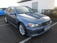 2005 LEXUS IS200 SE MOT OCT 2017 FULL LEATHER/SATNAV
