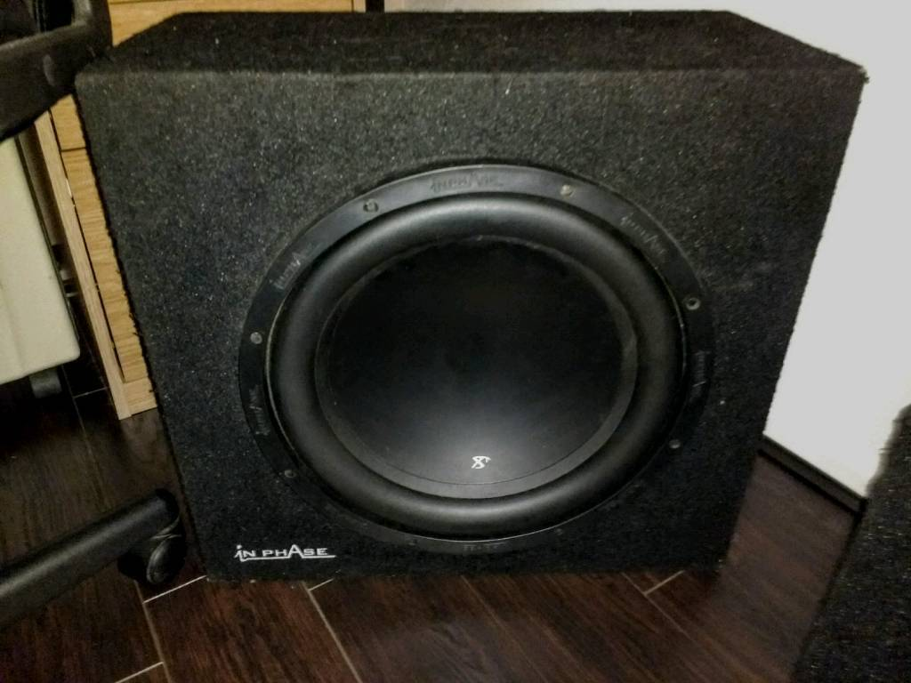 """In phase 15"""" subwoofer"""
