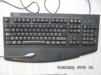 PC Accessories: IBM Keyboard and, Dell-Microsoft 'IntelliMouse'