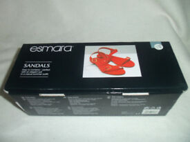 A pair of Esmara flat sandals.
