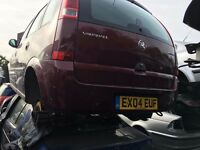 VAUXHALL MERIVA LIFE 8V 2004- FOR PARTS ONLY