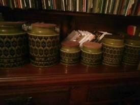 Green hornsea hierloom storagejars