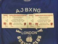 🥊 Anthony Joshua's Boxing Club Finchley ABC and District Amateur Boxing Club Fight Night Tickets
