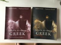 Yale Learn to Read Greek textbooks