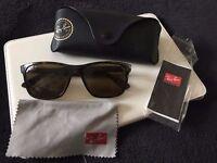 Rayban wayfarer polarised sunglasses ray ban