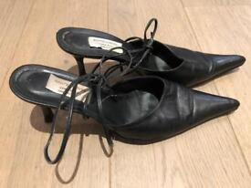 Real leather shoes size 6
