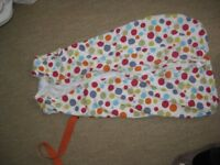 Various grobag/sleeping bags 0-6 months, 6-18m, 18-24m and 18-36m