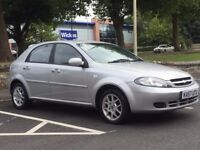 CHEVROLET LACETTI 2008(57 REG)*AUTOMATIC*VERY LOW MILES*NOT FORD*RENAULT*VAUXHALL*NISSAN*PX WELCOME