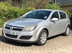 05/55 Vauxhall Astra Club 1.7 Diesel 5 Door with 12 months MOT and SH