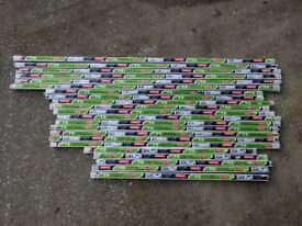 Fluorescent light tubes x 22 brand new. Ex shop stock.