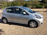 2011 Toyota Aygo 'Ice', 5 door - Very low mileage and running costs