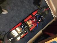 Forum snowboard + flow bindings
