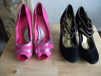 Womens shoes x 4 pairs
