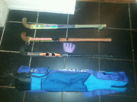 TK xentrix composite hockey stick with accessories