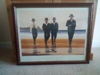 Framed Jack Vettriano Picture