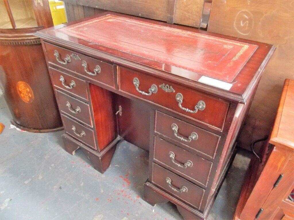 Vintage Leather Top Desk Wf2075