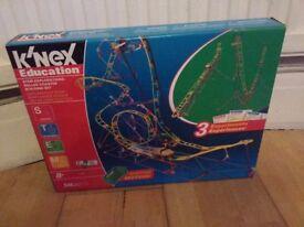 Knex education roller coaster building set