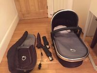 ICandy Peach Pram (not chassis) and accessories