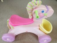 FISHER PRICE RIDE ALONG PONY