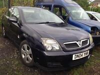2004 VAUXHALL VECTRA C 1.8 PETROL. BREAKING FOR PARTS SPARES ONLY. Blue