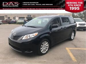 2017 Toyota Sienna LE AWD 7 PASS/PWR DOORS/REAR CAMERA