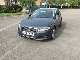 2009 AUDI A3 E SPORT TDI GREY CHEAP CAR BARGAIN LOOK HPI CLEAR LONG MOT
