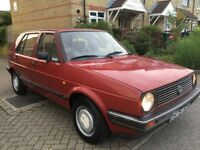 VW GOLF 1987 D REG GOLF 1.6 AUTO GENUINE 41K MILES