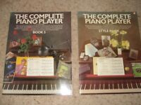 2 Kenneth Baker Music Books 'Style Book' and 'Book 5'