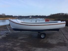 Orkney longliner 16 boat.
