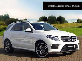 Mercedes-Benz GLE Class GLE 250 D 4MATIC AMG LINE (white) 2016-03-17