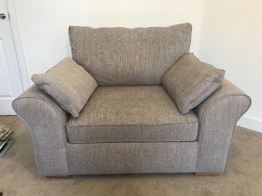 Next Garda Storage Sofa, Snuggle Seat And Footstall