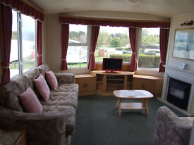 WHEELCHAIR ACCESS STATIC AT CAYTON BAY - SPECIAL 3 OR 4NTS FOR £250 TO £300 FOR SUMMER, WITH LINEN