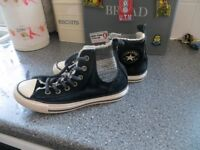 Converse Black All Star Sneekers Size 5
