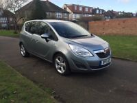 Vauxhall/Meriva 1.4 16v Exclusiv, Timing Belt & Water Pump changed, 49000 mil, Full Service History