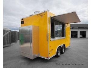 2017 Stealth Trailers Al Fresco 8.5x14 Concession Trailer