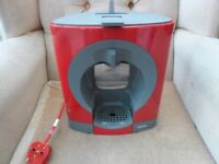 KRUPS NESCAFE DOLCE GUSTO RED COFFEE MACHINE